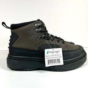Frogg Toggs Amphib II Men's Size 8 Rubber Non Slip Wading Shoes Waterproof